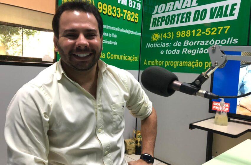 Marumbi: Vereador Junior Morelo apresenta projeto de saúde bucal para as crianças