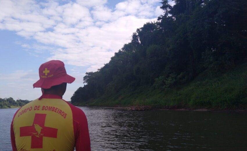 Homem foi encontrado morto no Rio Ivaí em Grandes Rios