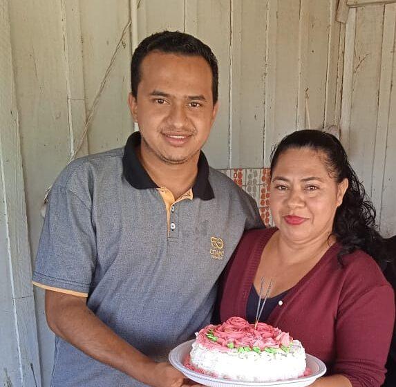 SOCIAL – Dona Celma de aniversário em Faxinal