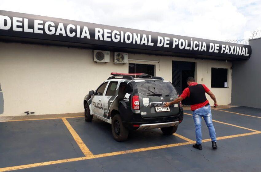 Foragido de Londrina foi preso pela equipe do Dr Ricardo em Faxinal