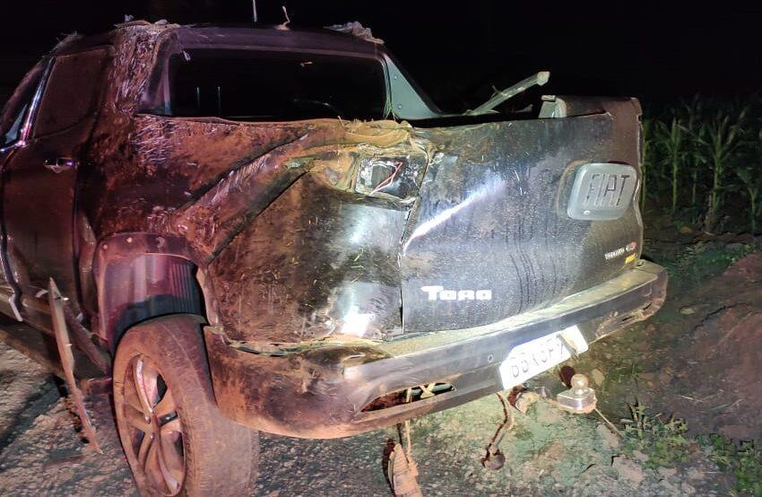 """""""Marcelo Nick"""" ficou ferido após acidente em Lidianópolis"""