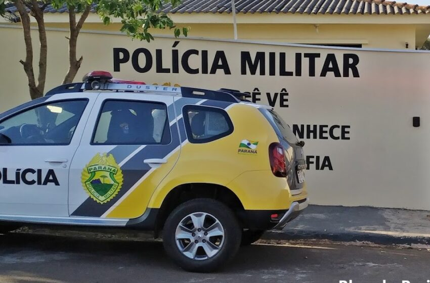 Jovem ataca policiais com faca no centro de Kaloré