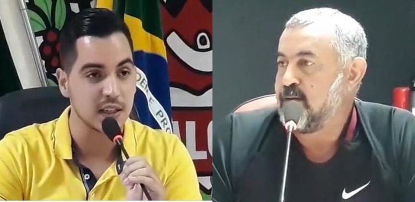 Polêmica: Vereador diz não ter sangue de barata, após discutir com colega na câmara de Kaloré