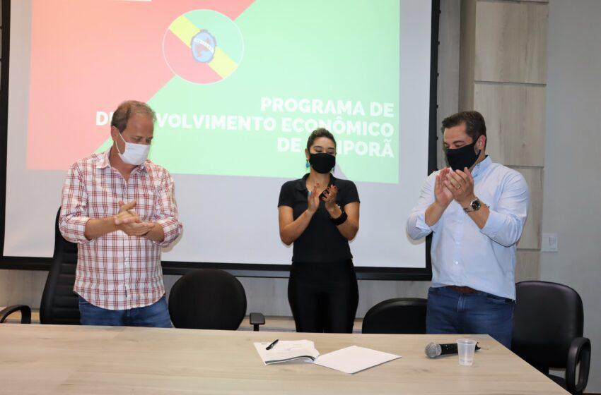 Prefeitura e Sebrae firmam convênio visando Desenvolvimento Econômico de Ivaiporã