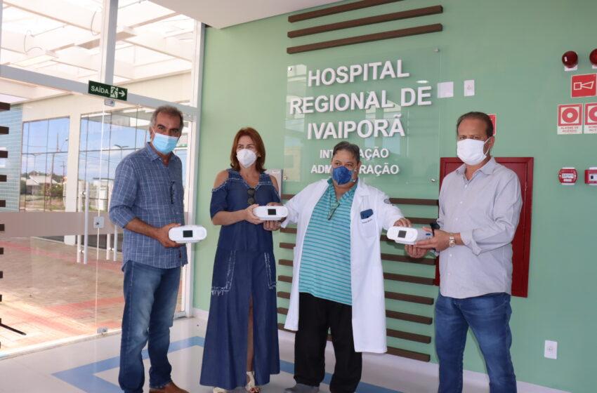 Amuvi doa 3 aparelhos CPAP ao Hospital Regional de Ivaiporã para usar em pacientes com Covid-19