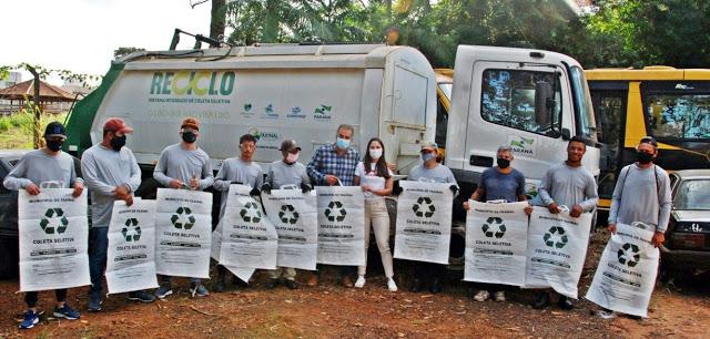 Prefeitura de Faxinal realiza entrega de EPIs à Cooperativa de Reciclagem da cidade