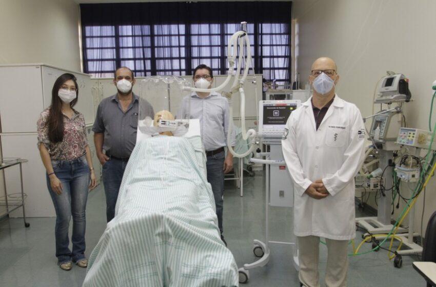Hospital de Maringá doa capacetes de oxigenação para 21 municípios