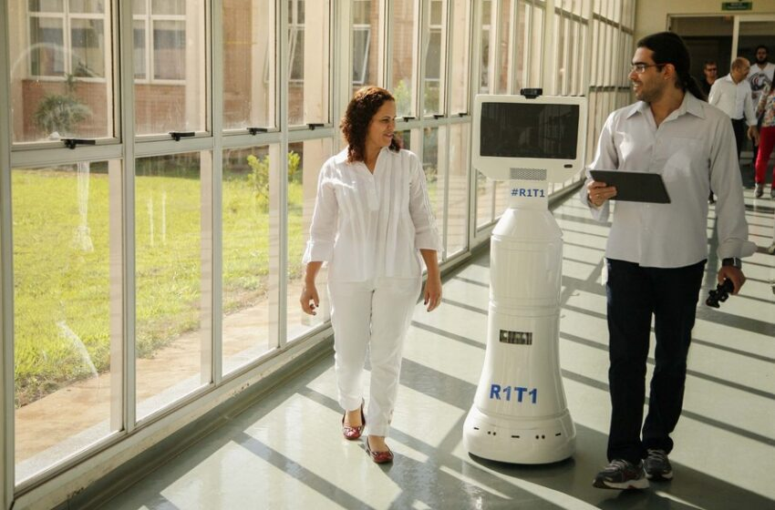 Robô usado no Hospital Regional de Maringá é destaque na América Latina