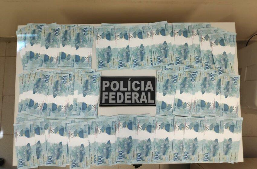 Em Apucarana, polícia apreende 112 notas falsas de R$ 100 em encomenda enviada pelo correio