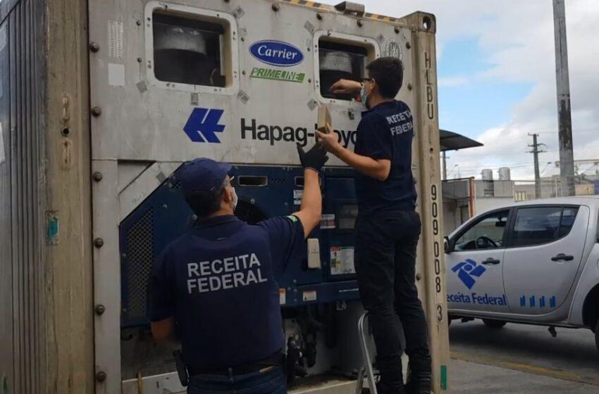 Receita Federal apreende mais de 265 kg de cocaína no Porto de Paranaguá