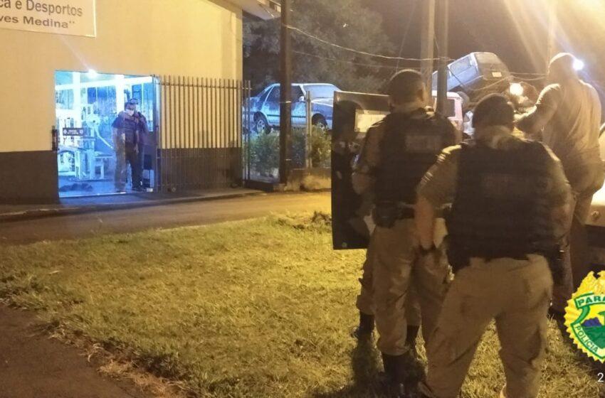 Tenente da PM ministra instrução de Primeira Intervenção em Crises na sede da 6ª Companhia Independente, em Ivaiporã