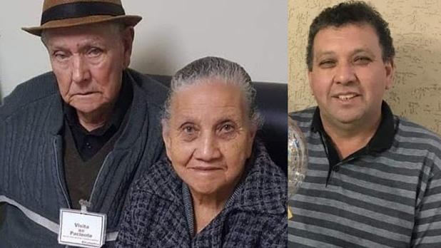 Pai, mãe e filho, da mesma família de Lidianópolis morreram com a covid-19