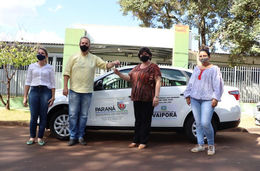 Departamento de Assistência Social de Ivaiporã adquire veículo com recursos do Ceas