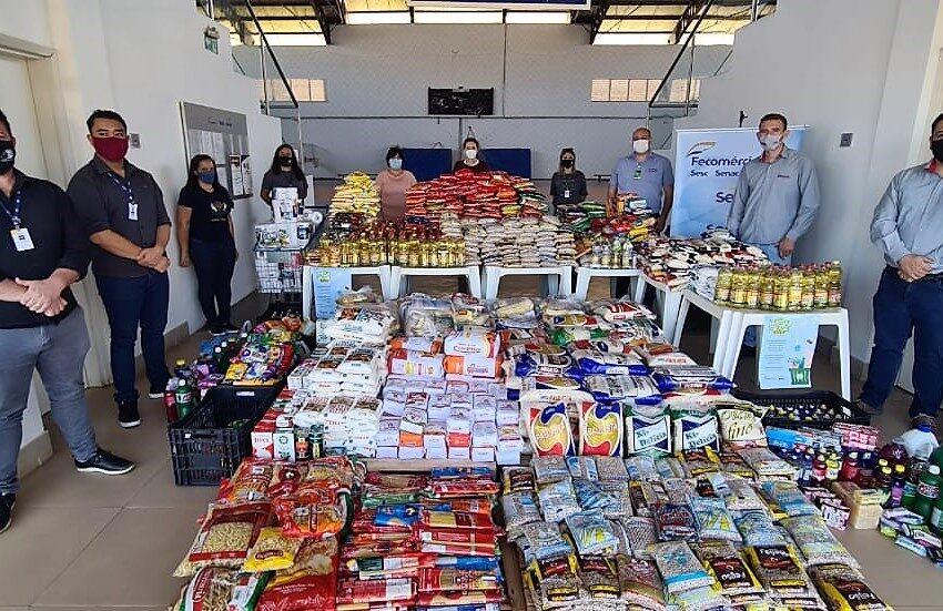 Assistência Social de Ivaiporã recebe 673 kg de alimentos doados pelo Sesc via programa Mesa Brasil