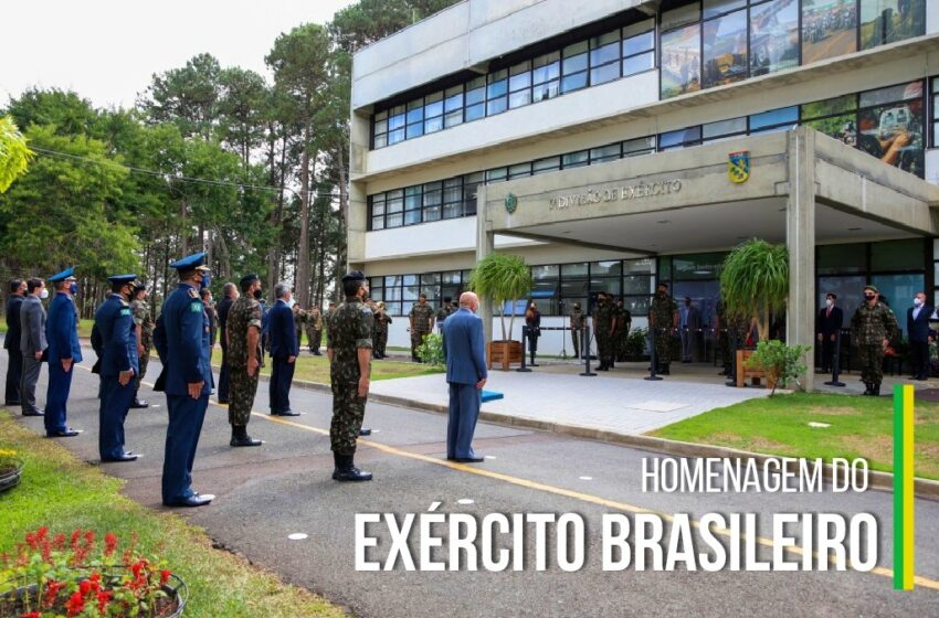 Procurador-geral de Justiça recebe a Medalha Exército Brasileiro