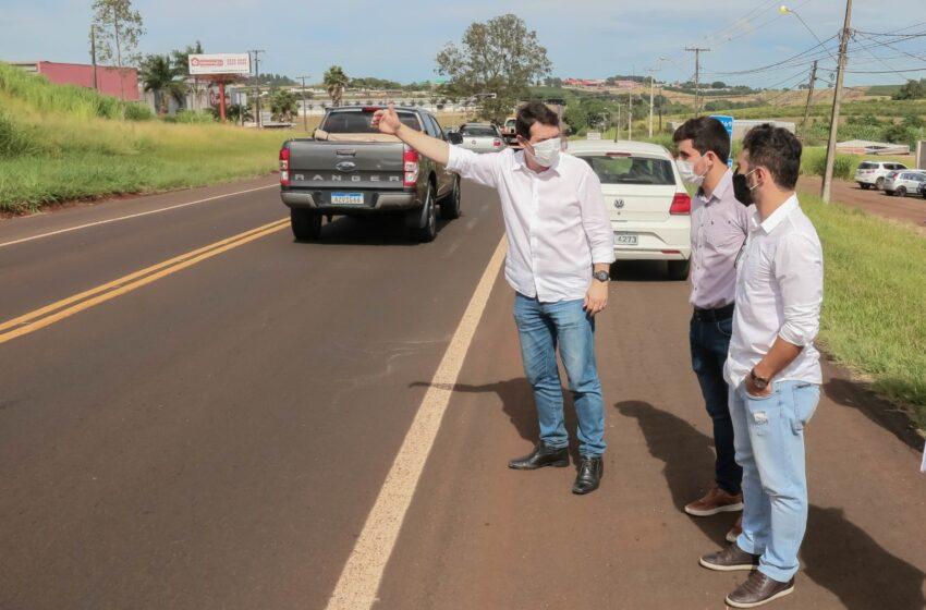 Em Apucarana, projeto de duplicação de trecho urbano da BR-369 está avançando