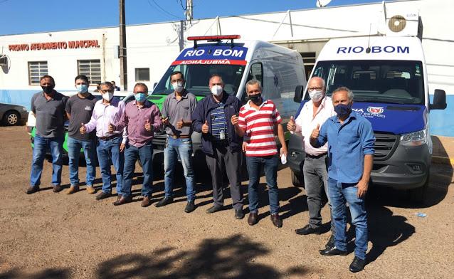 Deputado Artagão entrega veículos e equipamentos a Saúde de Rio Bom