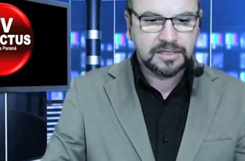 Orações: Repórter Jonei Farias é transferido para a UTI, vitima da Covid-19
