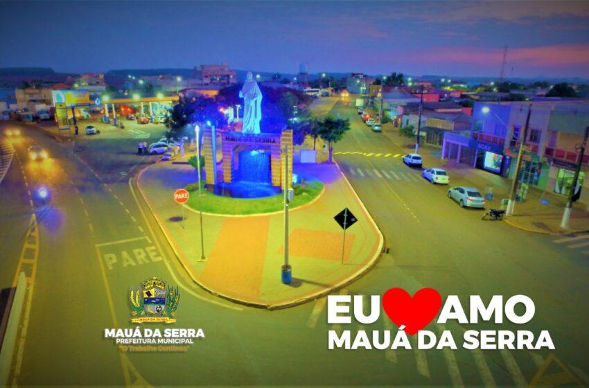 Mauá da Serra completa 31 anos de emancipação em pleno desenvolvimento