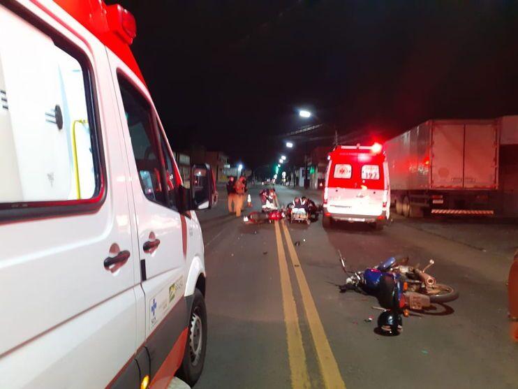 Após colisão fatal, caminhão arrasta corpo por 1 km em Arapongas