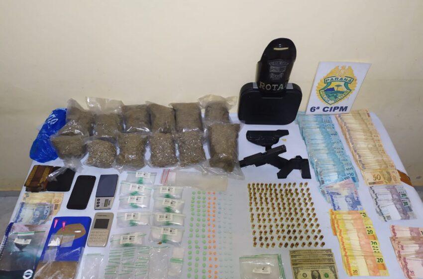 ROTAM prende dois suspeitos por tráfico em São João do Ivaí