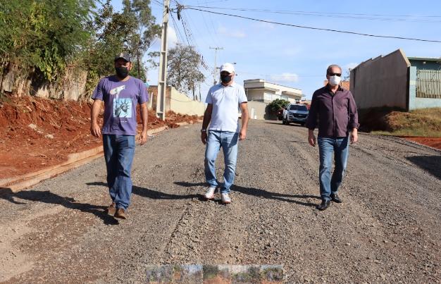 Prefeitura de Ivaiporã executa obras no Jardim Itaipu
