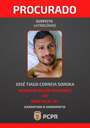 Polícia divulga fotos e vídeos de suspeito de roubar e matar homossexuais em Curitiba e SC