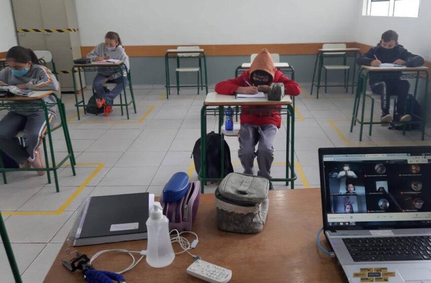 VALE DO IVAÍ – 42 escolas estaduais da regiao retomam aulas presenciais na segunda-feira
