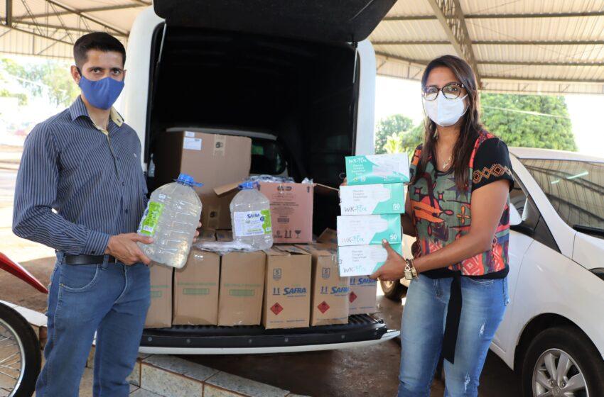 Diretor do Departamento de Indústria e Comércio doa 50% do salário e compra material de proteção contra coronavírus