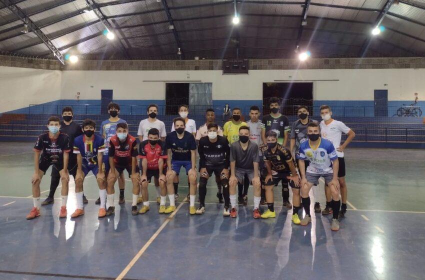 Equipes de futsal masculino de Ivaiporã disputarão Taça Paraná