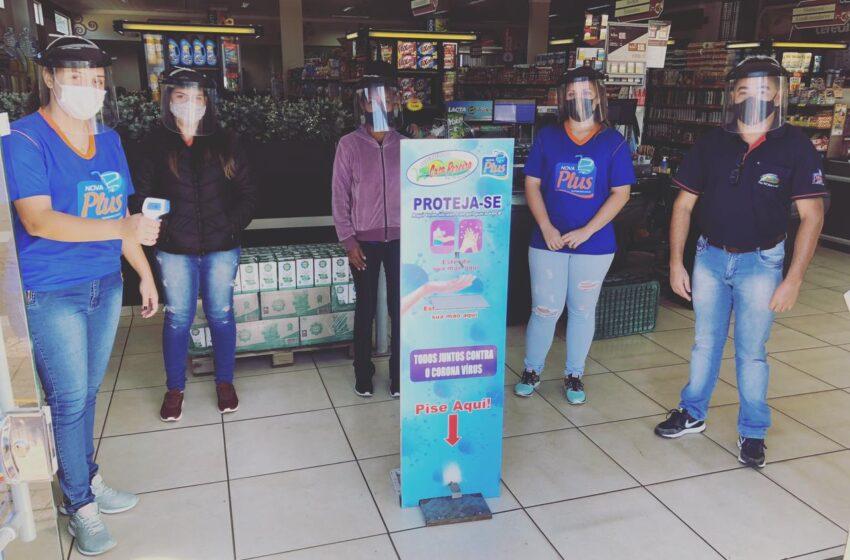 Supermercado Casa Pereira de Borrazópolis adota por conta própria novas medidas de segurança relacionadas a COVID-19