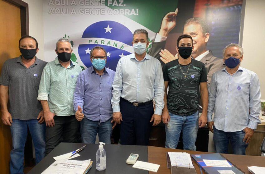 RIO BOM – Prefeito Moisés Andrade na Alep em busca de demandas para o município