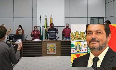Vereador de Cruzmaltina é acusado de presidir sessão infectado pela Covid-19
