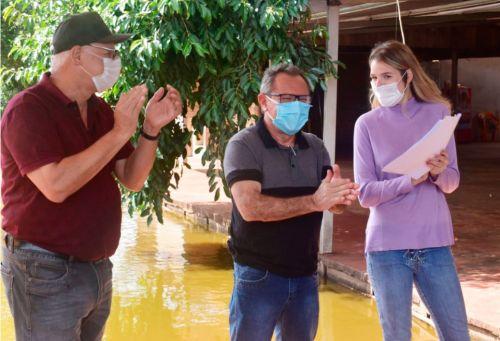 Rio Bom garante mais de 1 milhão e cem mil reais da deputada federal, Luisa Canziani