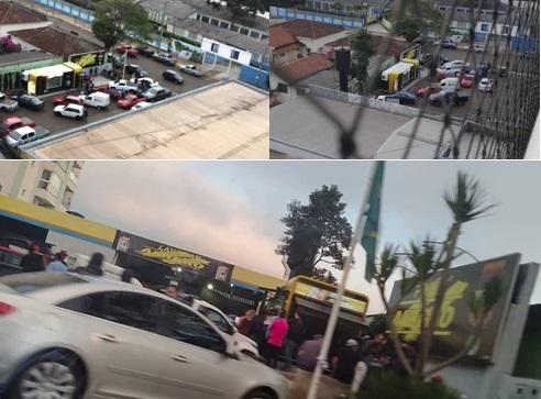 Faxinal: Denuncias de aglomeração termina com posto de combustíveis fechado
