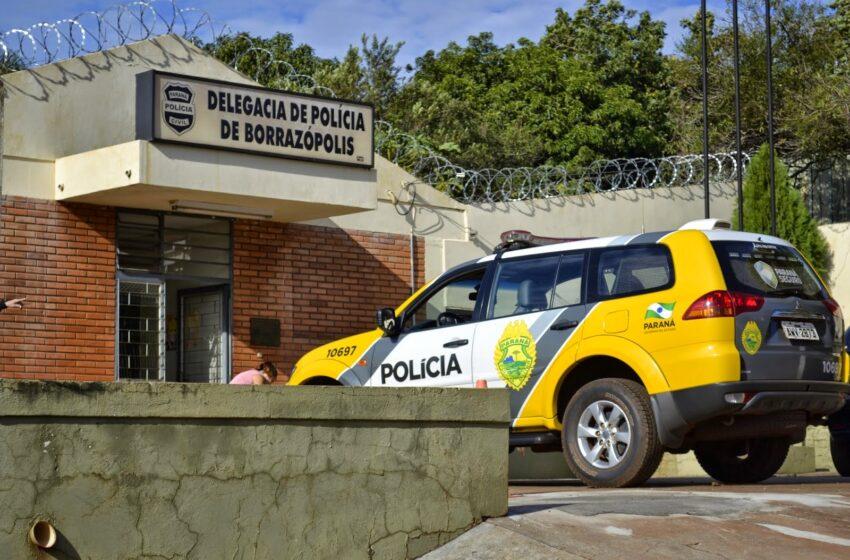 Borrazópolis: Homem é detido após ameaçar de morte mulher com barra de ferro