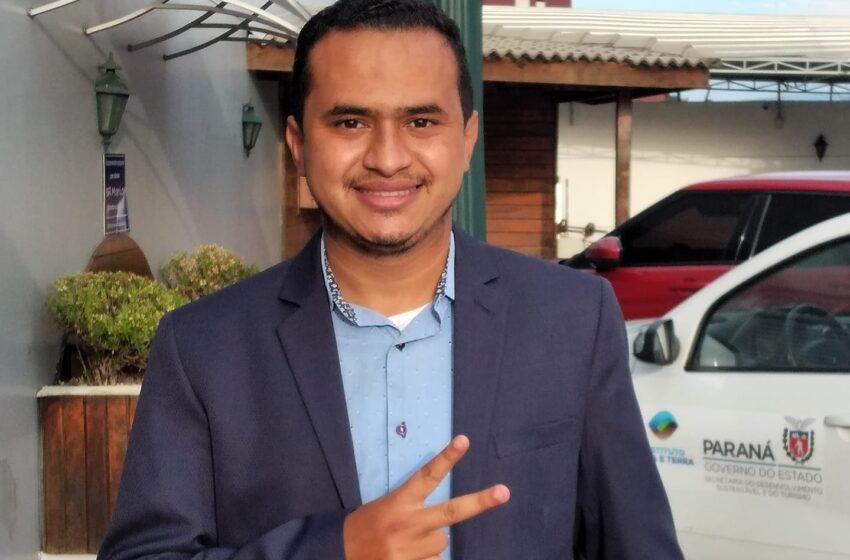 """""""Vou intensificar a luta pelo meu povo"""" diz Carlinhos Vila, vereador de Faxinal"""