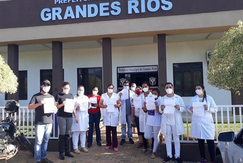 Onze enfermeiros de Grandes Rios pediram demissão alegando desvalorização
