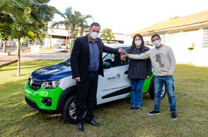 CAMBIRA – Secretaria de Saúde recebe carro 0km