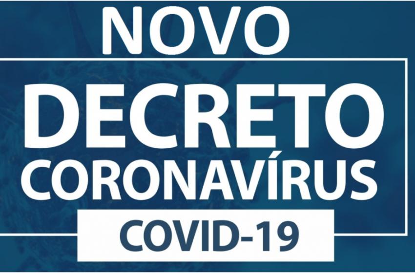 Veja o novo decreto de enfrentamento ao Coronavírus em Borrazópolis