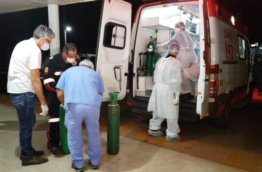 Paciente da região, aguarda vaga de UTI por 2 horas em ambulância e só consegue após morte de outra pessoa internada