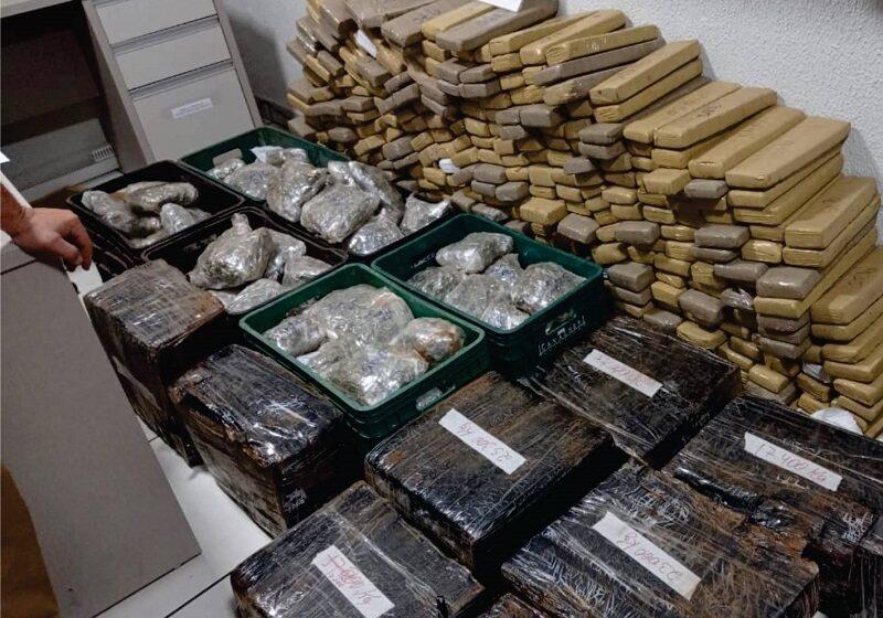 Polícia Militar apreende mais de 600 quilos de drogas em Nova Cantu