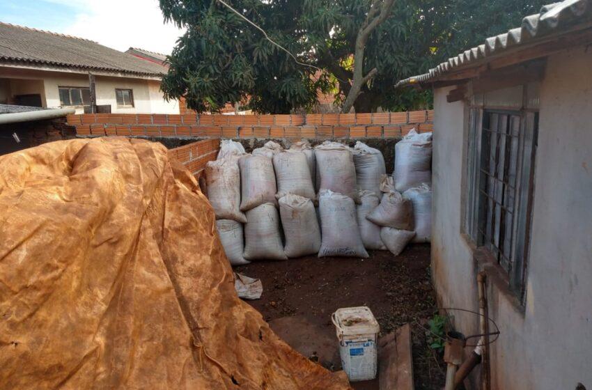 Em Mauá da Serra, policia recuperou soja que havia sido furtado