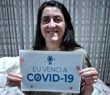 Vitória: Apucaranense que teve 50% do pulmão comprometido vence Covid