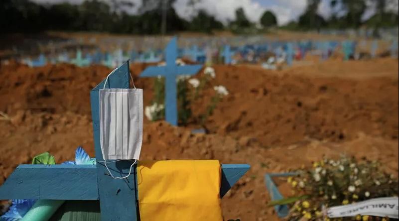 Brasil ultrapassa a marca de 500 mil mortos pela Covid-19