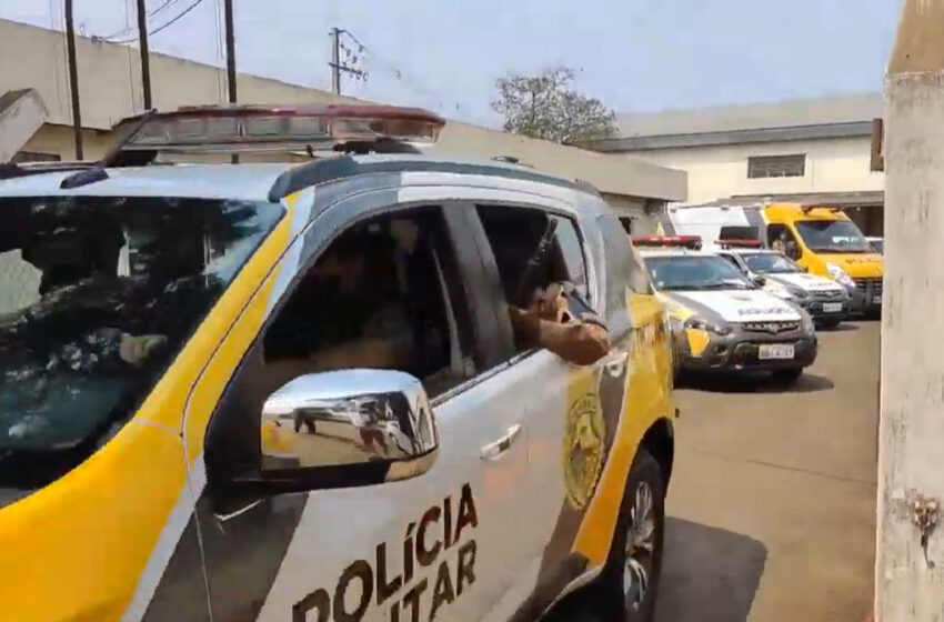 Homem é preso por agredir mulher e filho em Marilândia do Sul