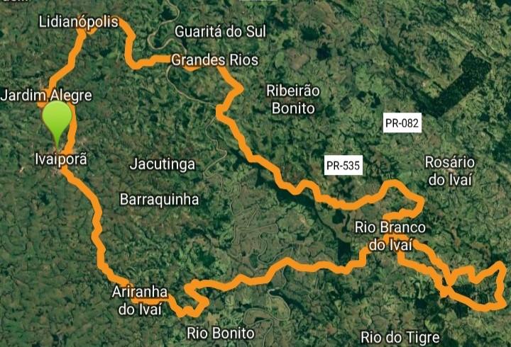 VALE DO IVAÍ – 6 municípios da região mapeiam rota para prática do ciclismo e incentivo ao turismo