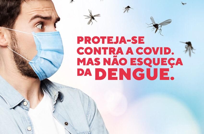 Apucarana: Proteja-se contra a Covid mas não se esqueça da dengue
