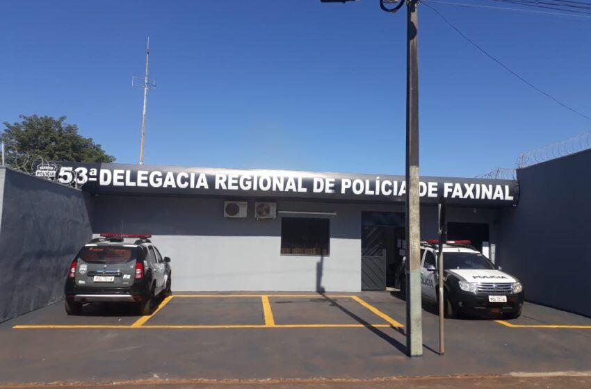 Polícia Civil de Faxinal prende homem com mandado de prisão