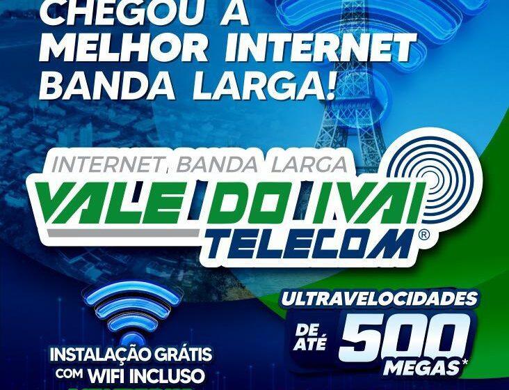 Vale do Ivaí Telecon passa atender Ivaiporã com a melhor internet Banda Larga